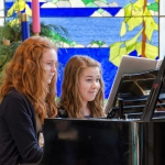 Friends at the Piano together